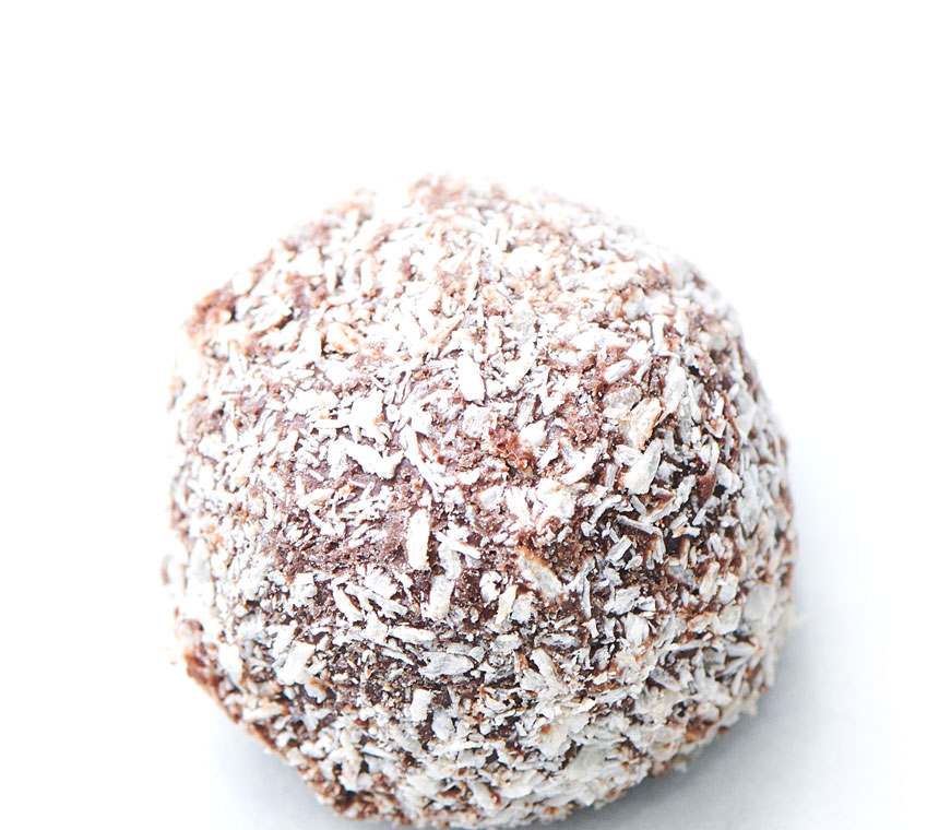 large chocolate ball for home footer